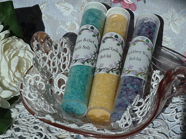 Bath Salts In 1x6 Clear Tubes