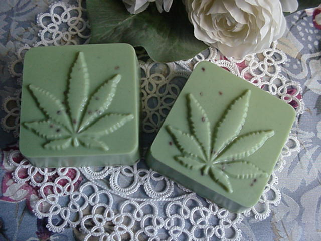 MaryJane with Hemp Seeds Soaps