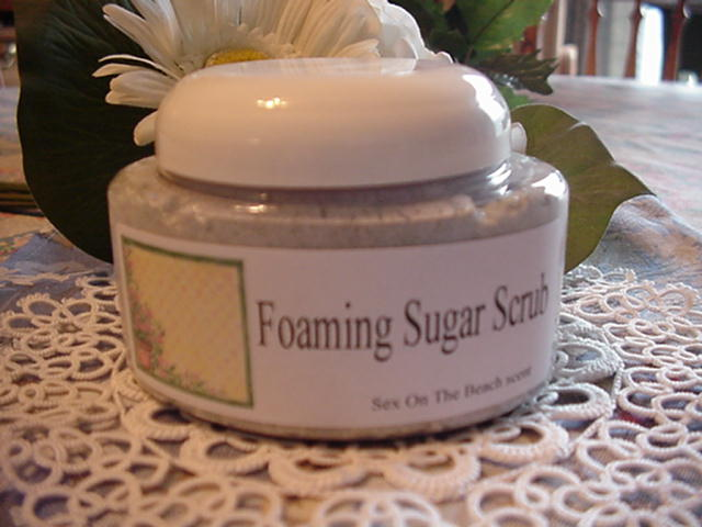 Foaming Sugar Scrubs