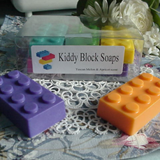 Kiddy Block Soaps